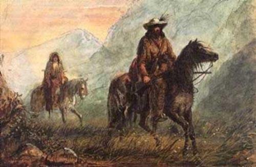 Saddle Holsters   Gabe the Shootist