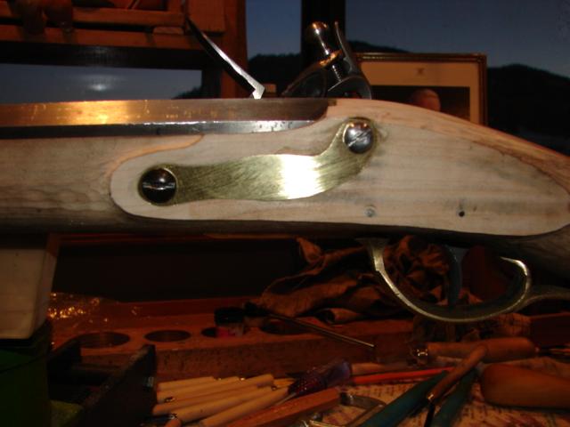 The Deringer side plate.